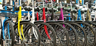 Bike parking a Napoli